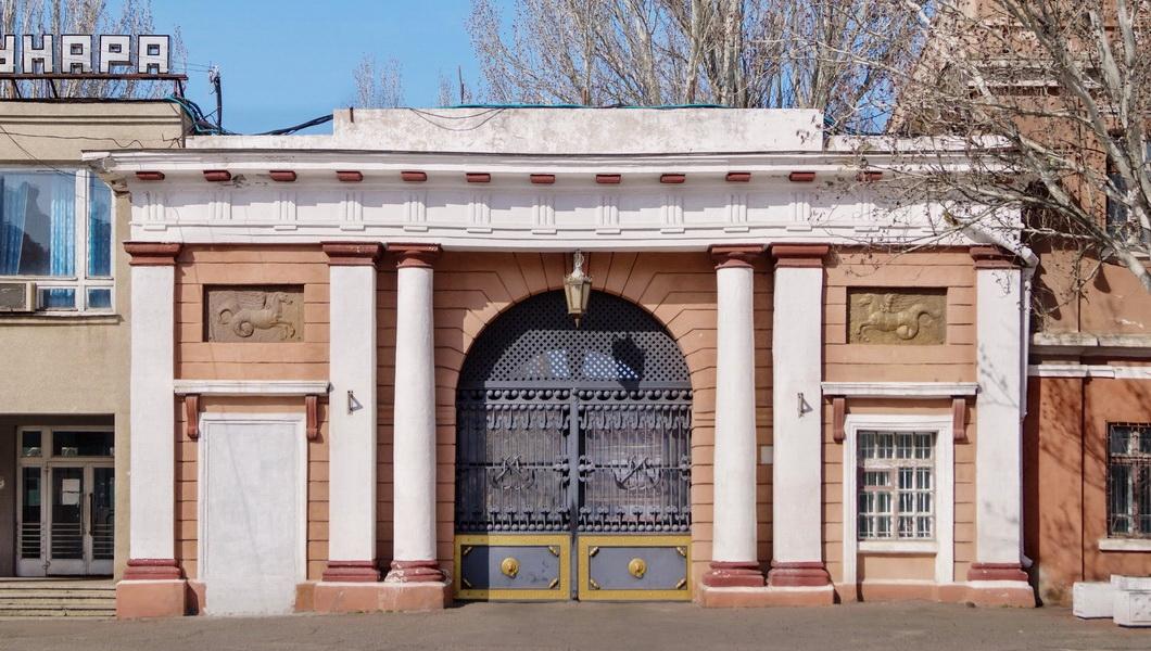 Главные ворота Адмиралтейства